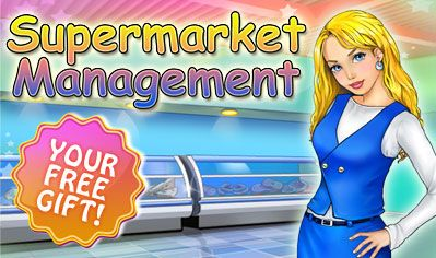 Weekly Giveaway! Starting today through June 15th, enjoy Supermarket Management absolutely FREE on  iOS, Android and Mac! Help Kate become a skilled store manager and prove that running a supermarket can be as easy as A-B-C in this utterly addictive time management game! Learn more: www.g5e.com/sale
