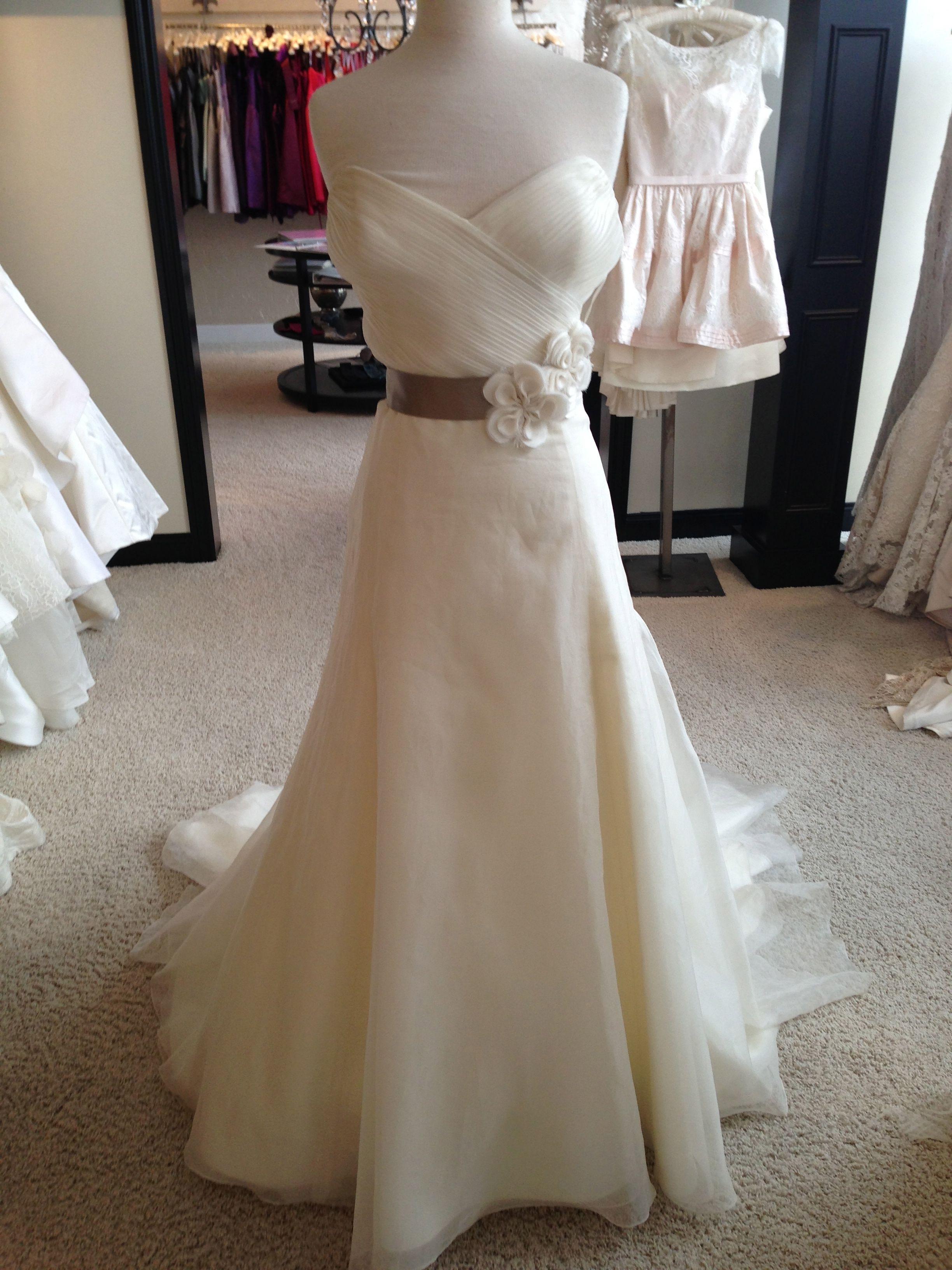 Wedding dresses used  Amsale Tyler Size  Wedding Dress  Used wedding dresses Wedding