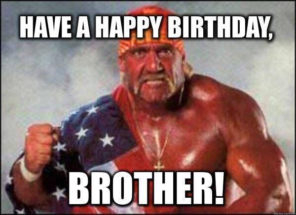 Brothers Birthday Happy Birthday Brother Funny Happy Birthday Brother Happy Birthday Fun