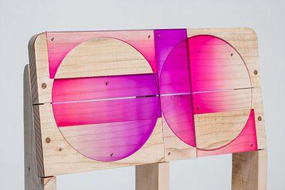 Diseño coreano: de pallets usados a originales sillas.