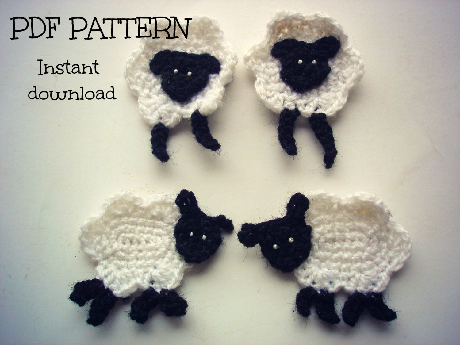 Crochet applique pattern crochet sheep applique by thehobbyhopper crochet applique pattern crochet sheep applique by thehobbyhopper 350 great shape sure i can bankloansurffo Gallery