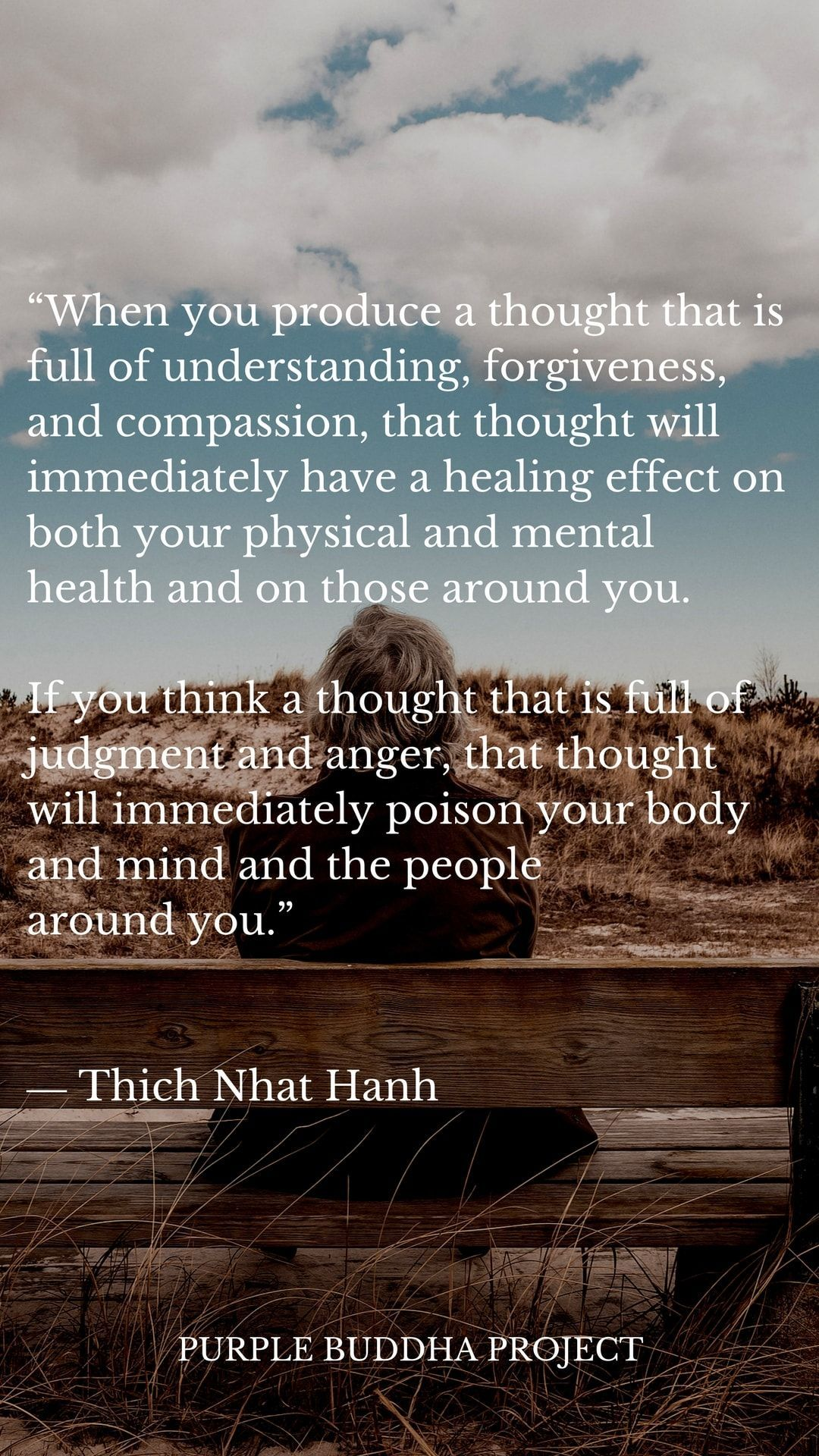 Real Buddha Quotes 18 Quotes On Buddhism From Thich Nhat Hanh Of The Week  Purple