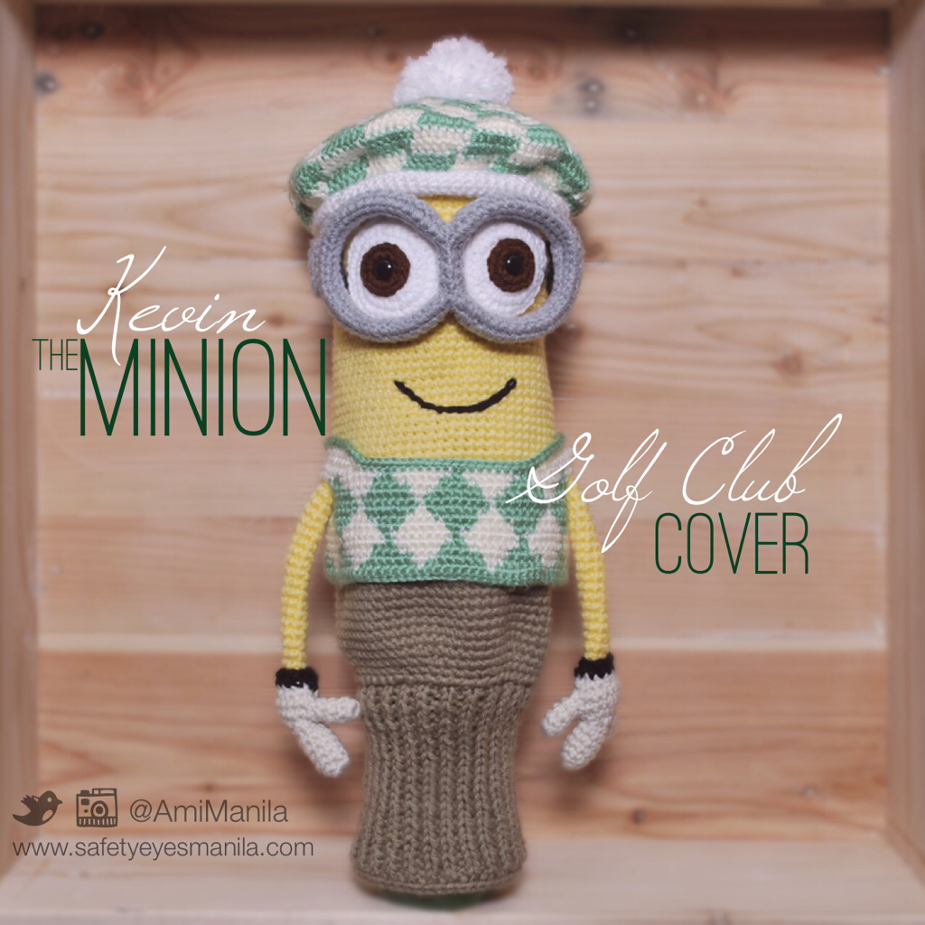 Kevin the minion golf club cover crochet stuff pinterest kevin the minion golf club cover bankloansurffo Images
