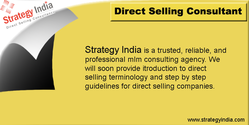 Strategy India - Direct Selling COnsultant