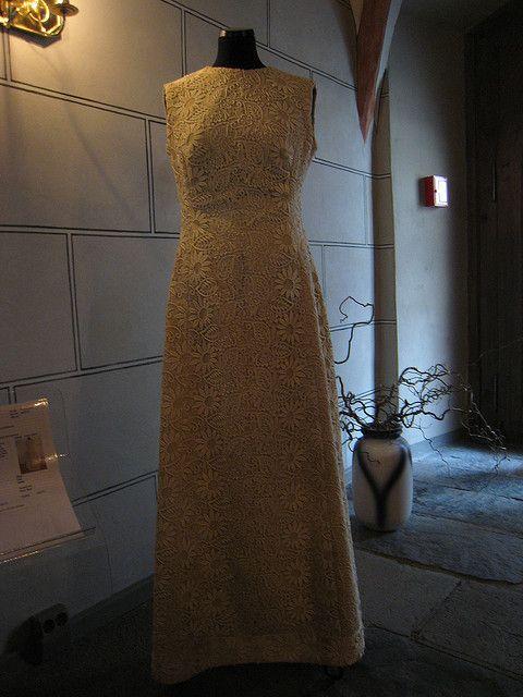 Musée de la dentelle, Planau - Robe de mariée by cicilem, via Flickr
