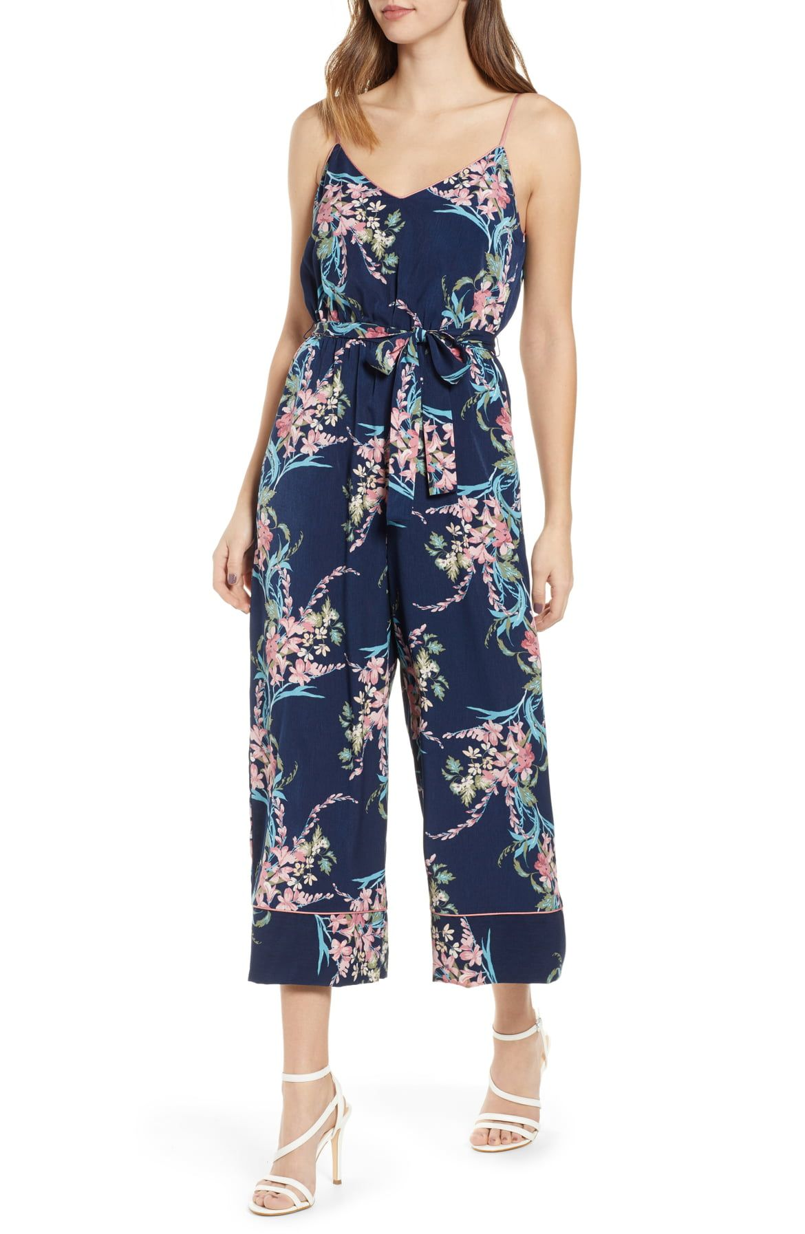 ca76e64e5 Leith Piped Cami Jumpsuit (Regular & Plus Size)   Nordstrom   wish ...