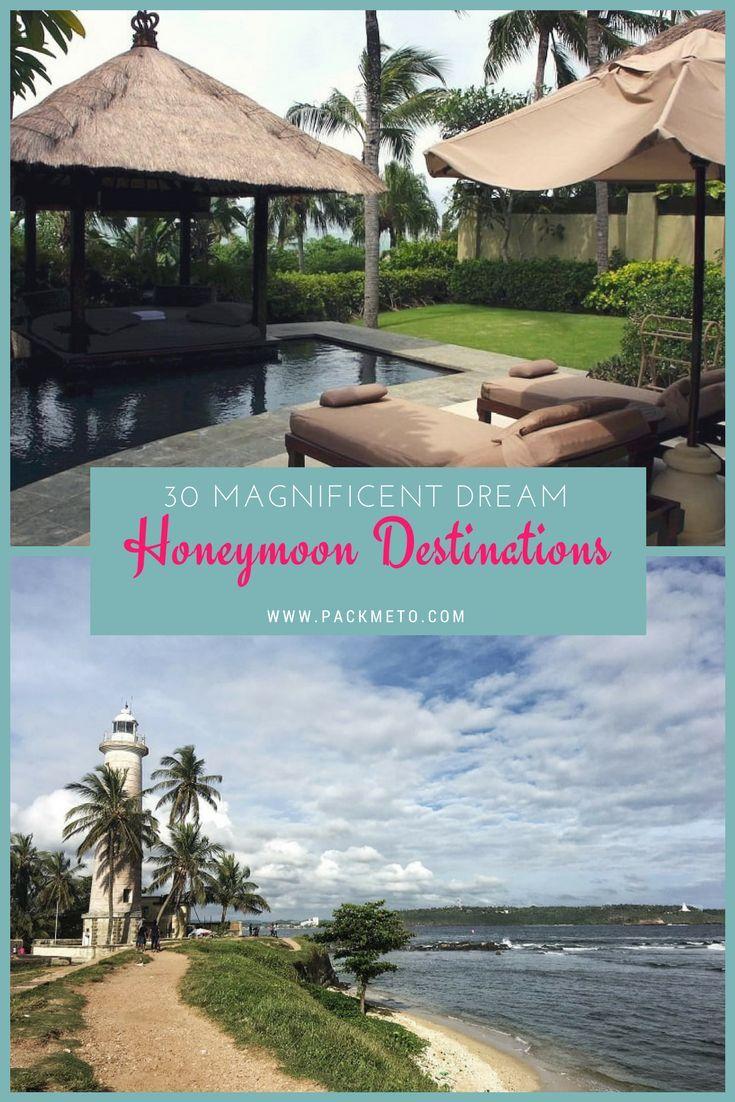 30 Magnificent Honeymoon Destinations