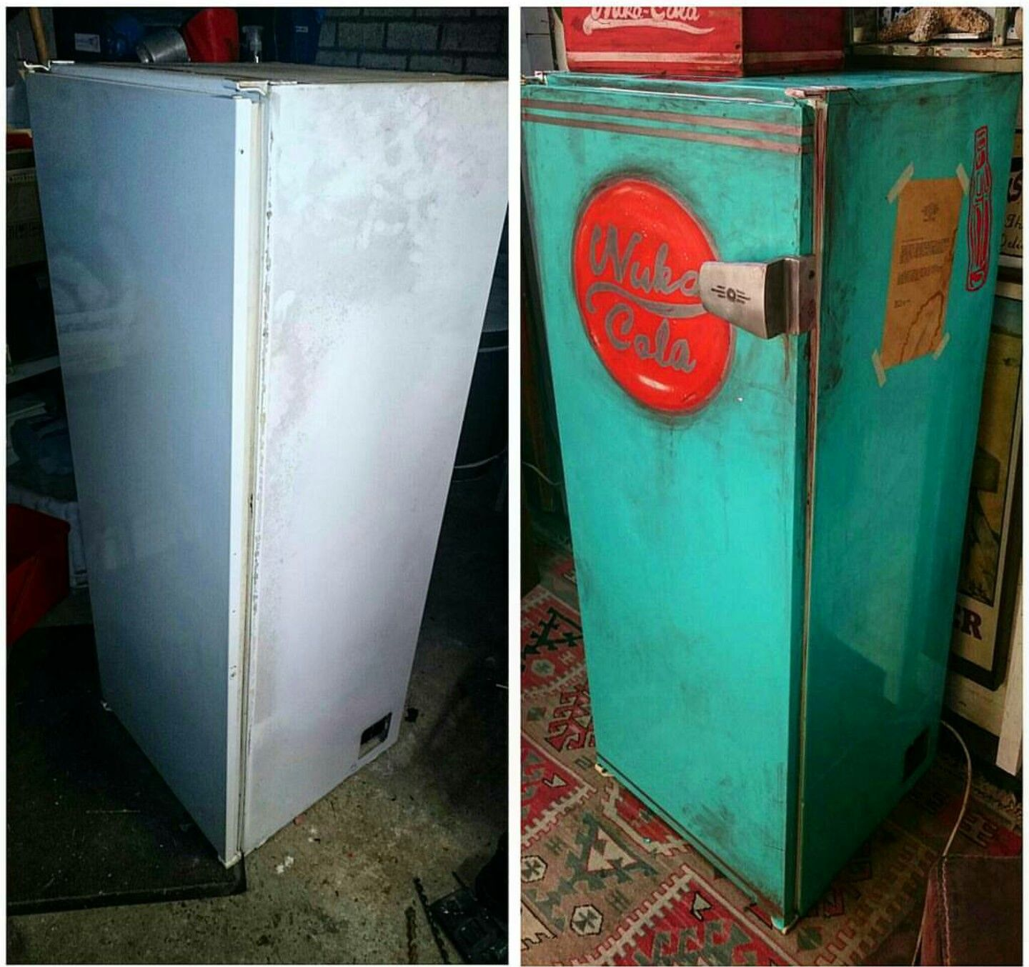 fridge for garage