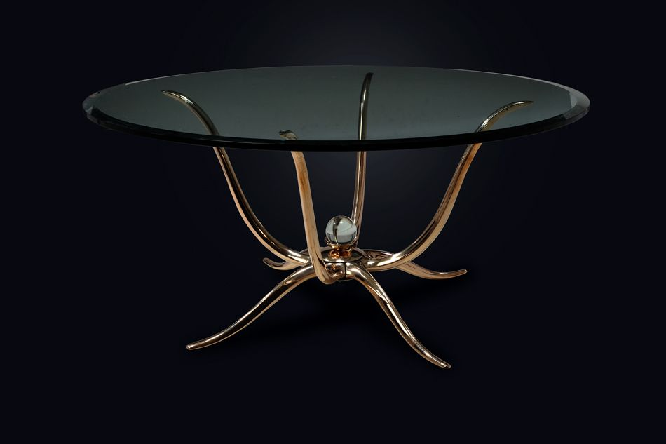 The Perfect Table For An Intj Solid Bronze Sculptural Table