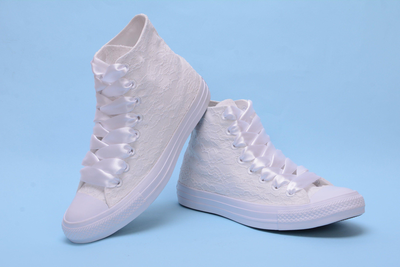 5e1b98d86fe Wedding Converse shoes