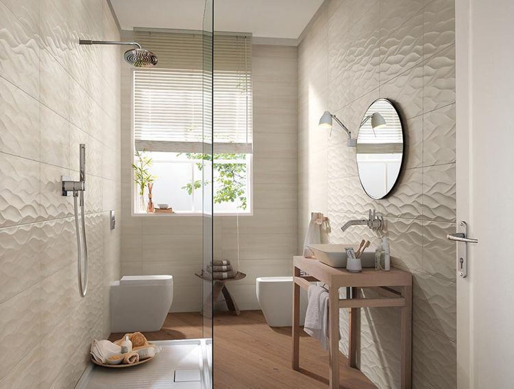 kleines badezimmer mit walk in dusche | badezimmer gestaltungsideen, Design ideen