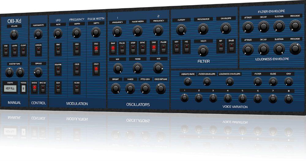 OB-Xd, Free Synth plugin, Download OB-Xd plugin, Free