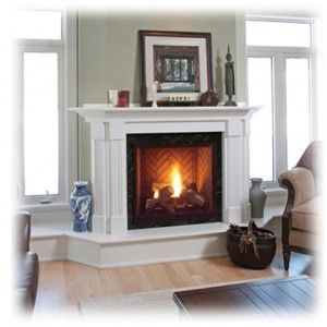 Wonderful Master Bedroom   Direct Vent Gas Fireplace Raised Hearth