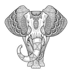 olifant kleurplaten gratis kleurplaten en mandala
