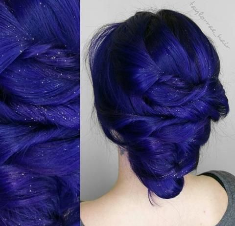 The Formula Intoxicating Indigo Indigo Hair Dyed Hair Cool