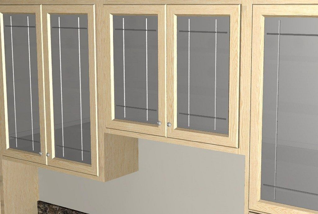 Kitchen Cabinet Doors Cabinets Replacement Fridge Gl Row