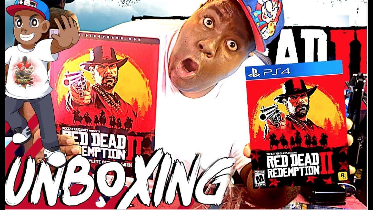 Red Dead Redemption 2 Regular Edition (PS4) Unboxing