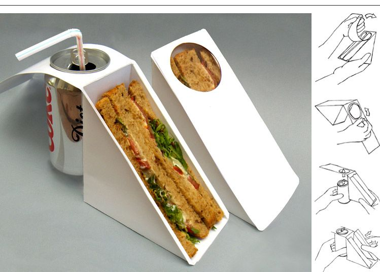 Top 10 Concept Packaging | Sandwich packaging