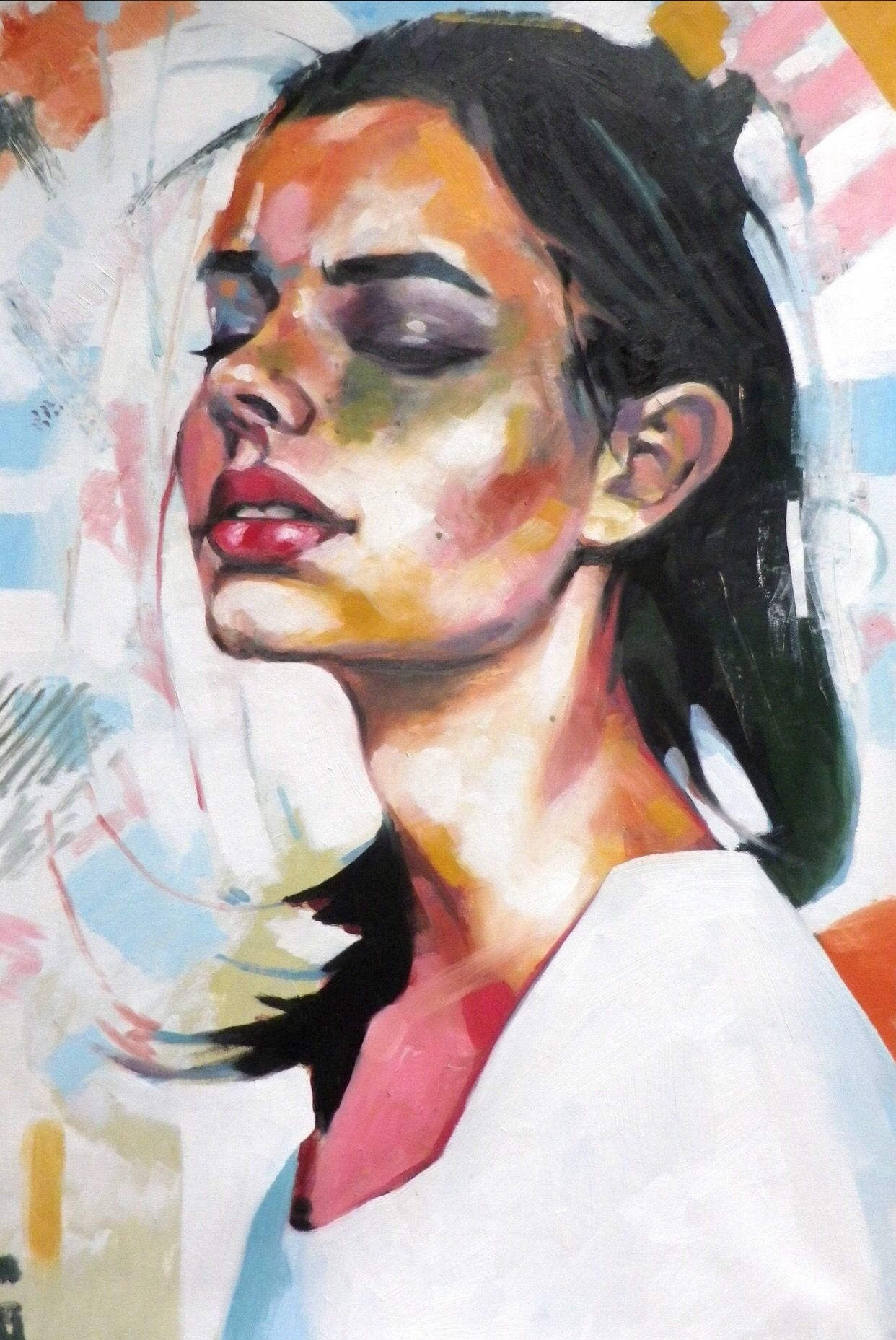 Looking Down Color by Thomas Saliot > view at saatchiart.com ...