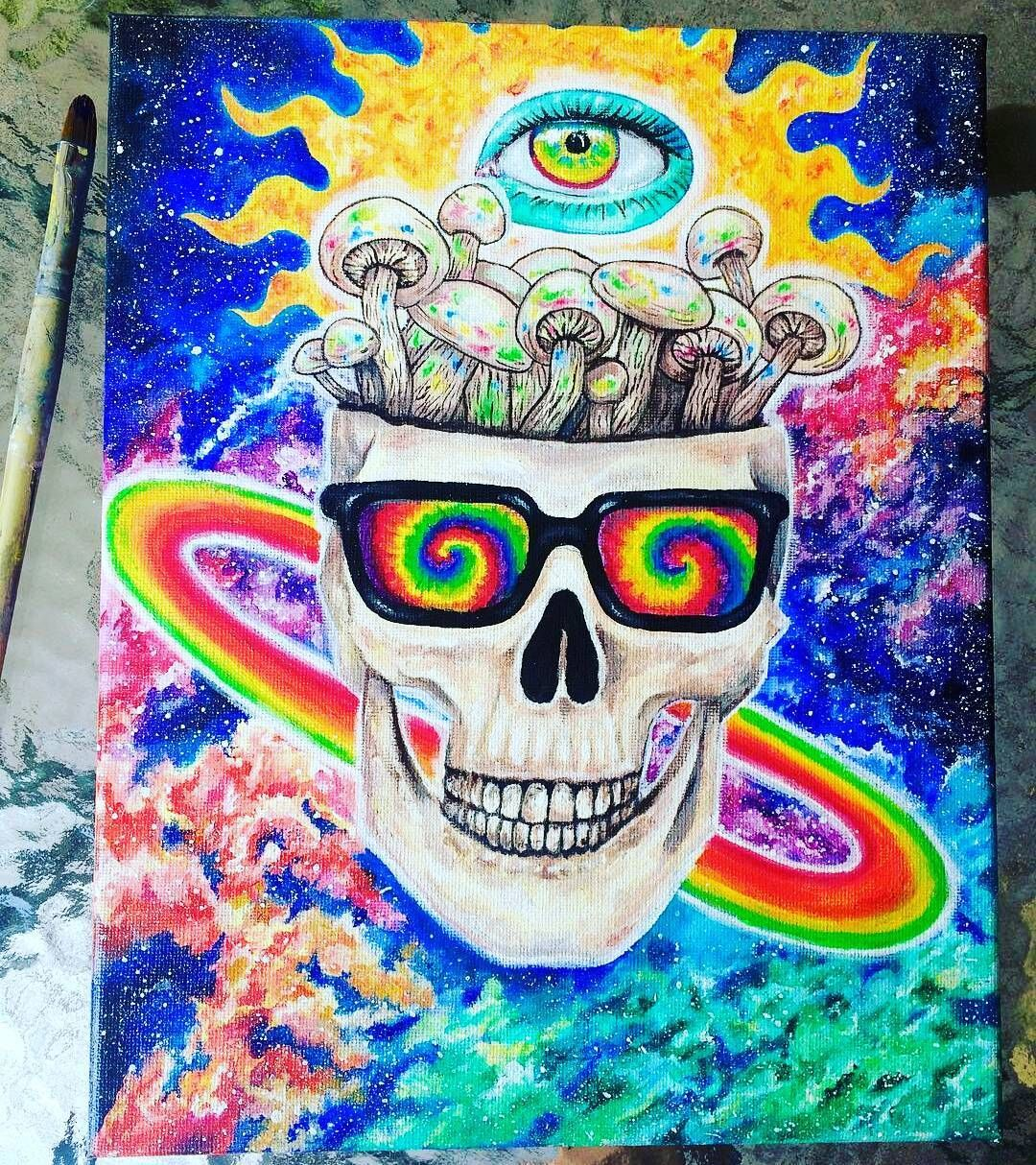 Pinterest Jvnxie Hippie Painting Trippy Drawings