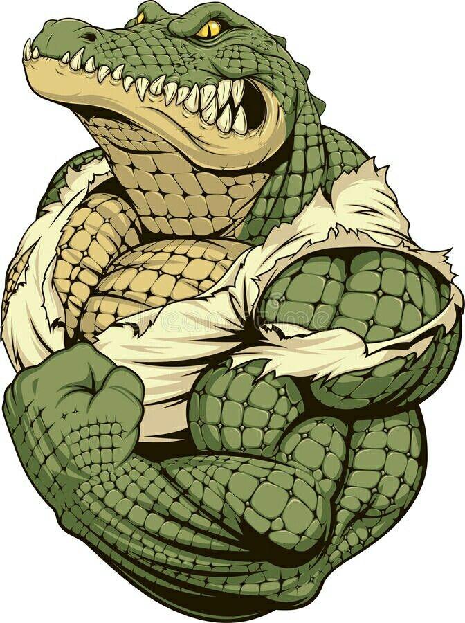 Pin Oleh Setiawant Di Crocodiles Alligators Binatang Konsep Karakter Kartun