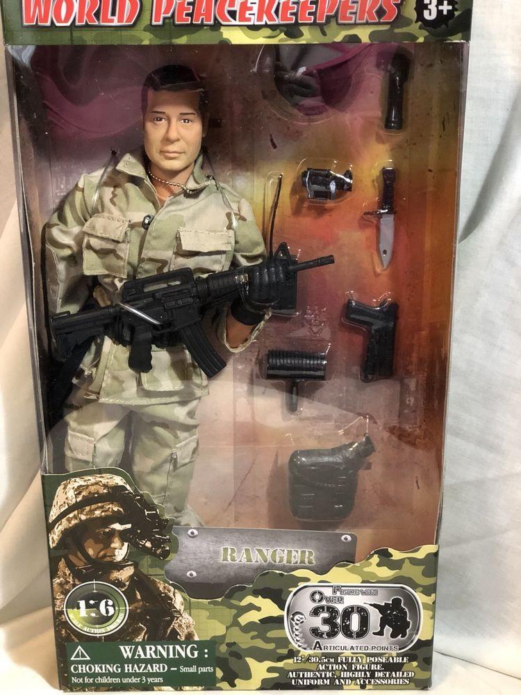 GI Joe World Peacekeepers Ultra Corps Figurines Accessoires