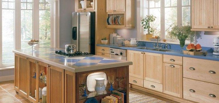 Natural Maple Kitchen Cabinet Ideas | Maple kitchen ...