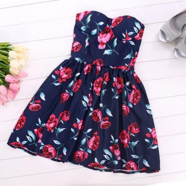 Rose Bustier Dress