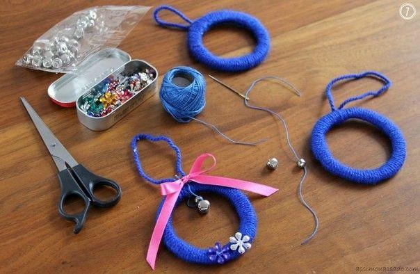 Елочные игрушки своими руками - Сайт happynewyear2013!