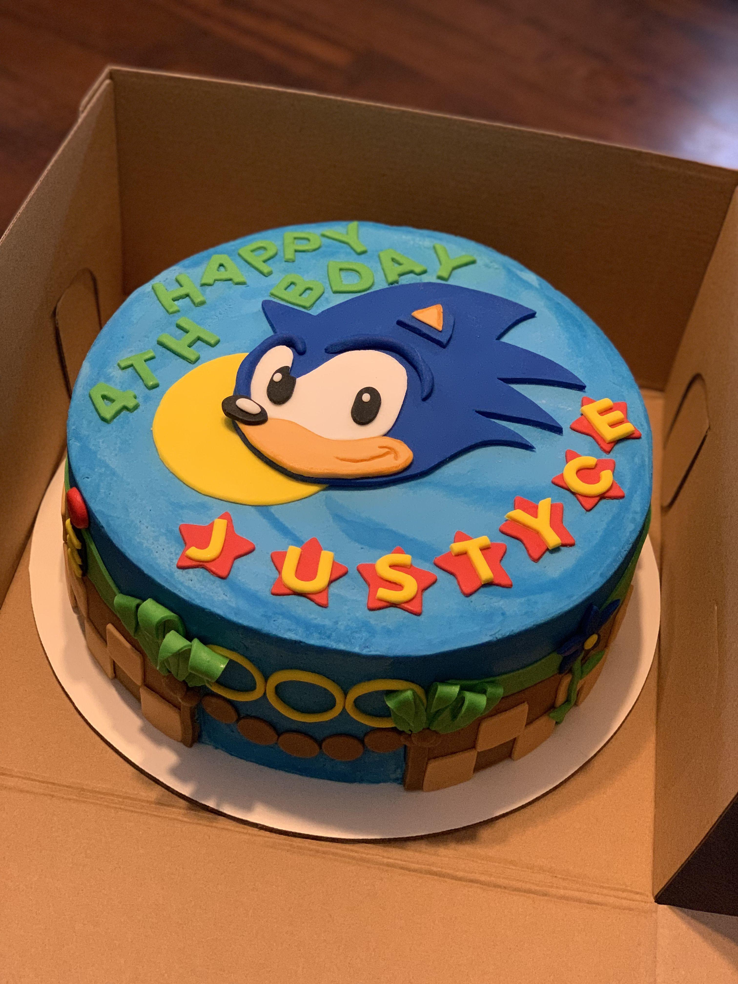 Sonic The Hedgehog Cake Hedgehogcake Sonic The Hedgehog Cake Hedgehogcake En 2020 Pastel De Sonic Fiestas De Cumpleanos De Sonic Fiesta De Sonic