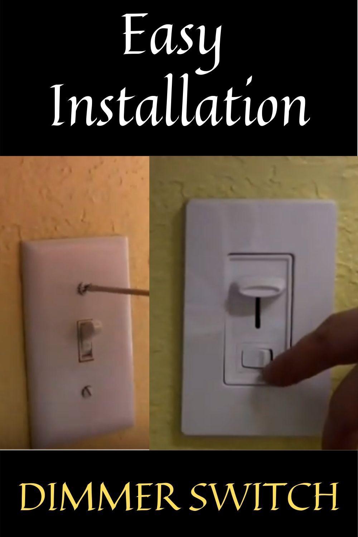 Light Dimmer Switch DIY   Dimmer switch diy, Light dimmer switch ...