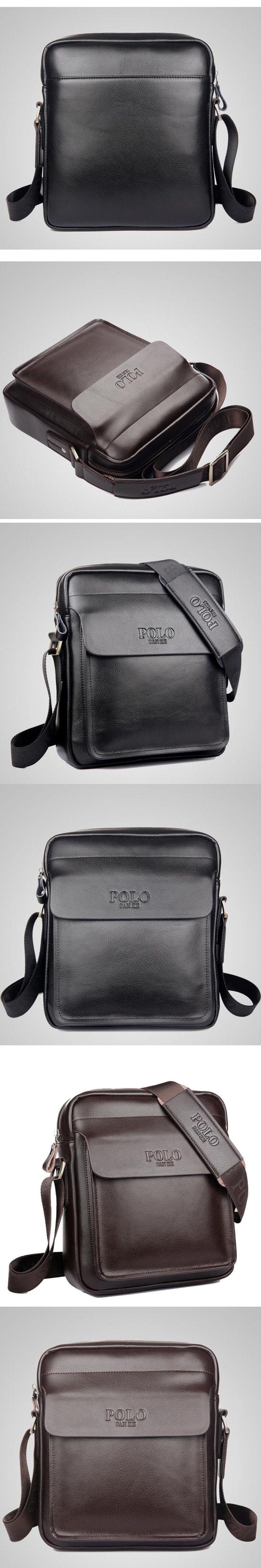 d8bbdf61a606 TOP POWER Men Shoulder bag Genuine leather Men Bag Classical Messenger Bag  Fashion Casual Business Shoulder