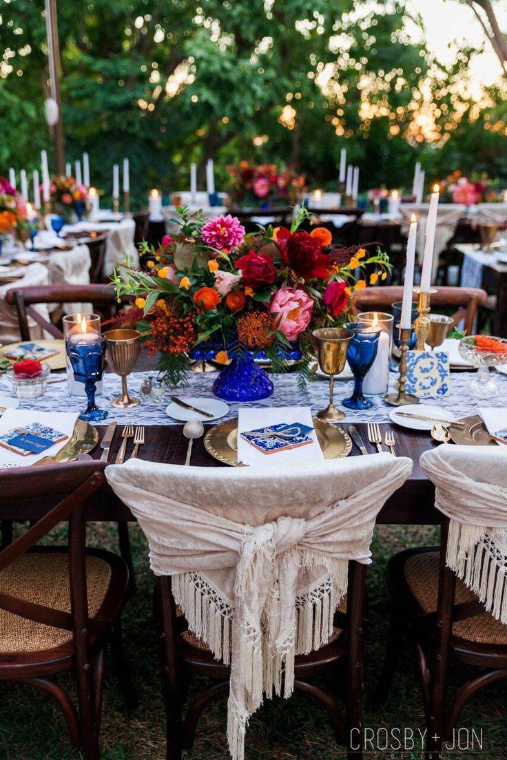 Spanish Inspired Wedding Reception Decor Mexican Inspired Wedding Mexican Themed Weddings Wedding Reception Decorations