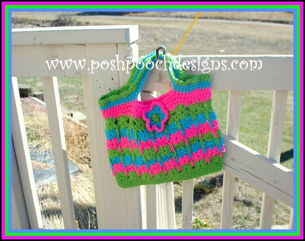 Cute Kittens Crochet Tote | Pinterest | Häkeln Beutel, Beutel und Häkeln
