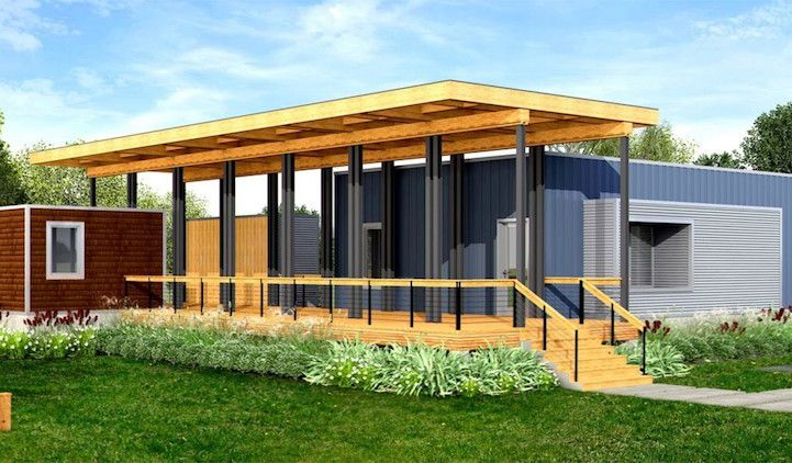 Company Creates Line Of Eco Friendly Prefab Homes That Start At