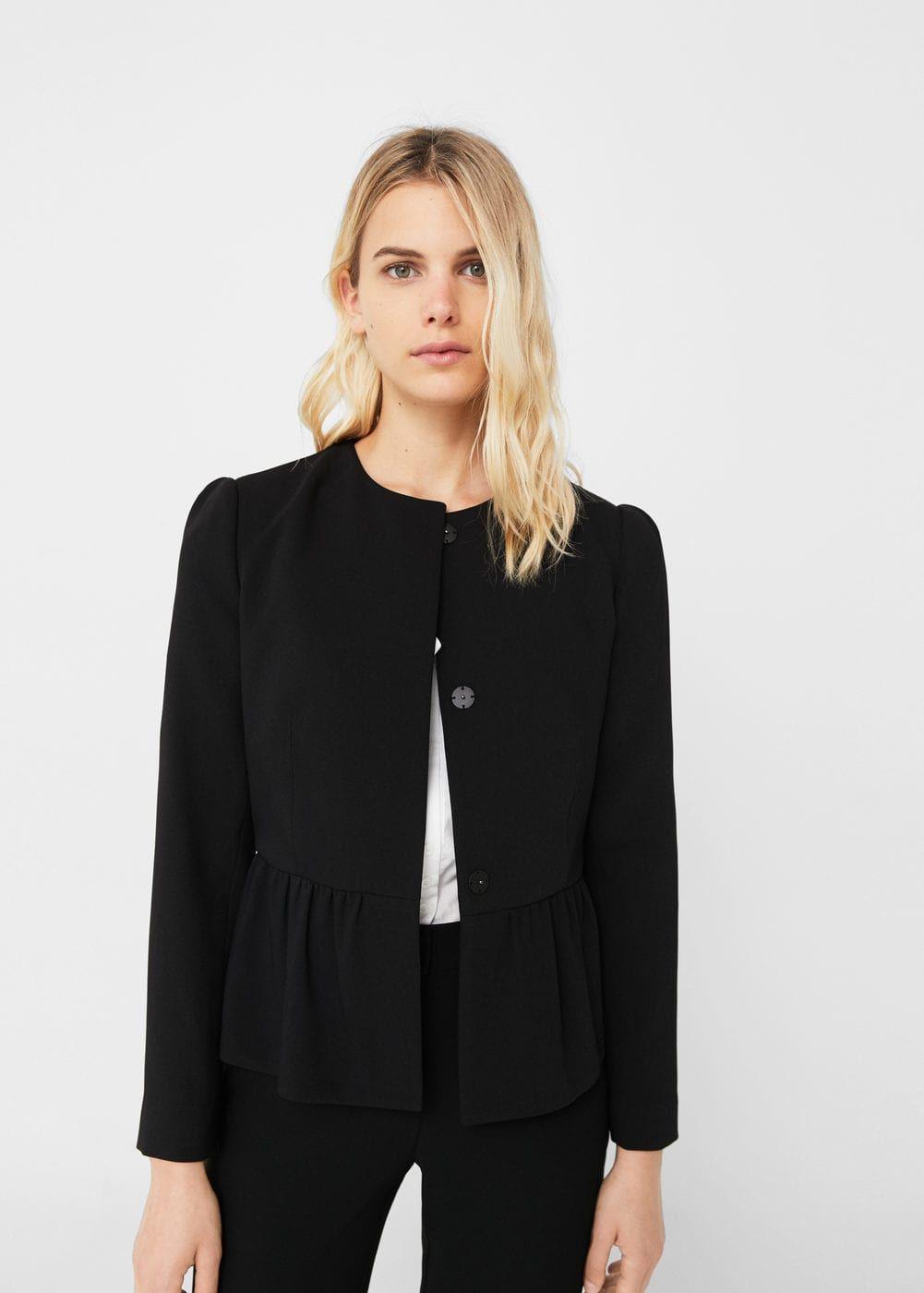 Peplum jacket - Women   Fall favorites   Peplum jacket, Jackets, Clothes 86316862d5a9