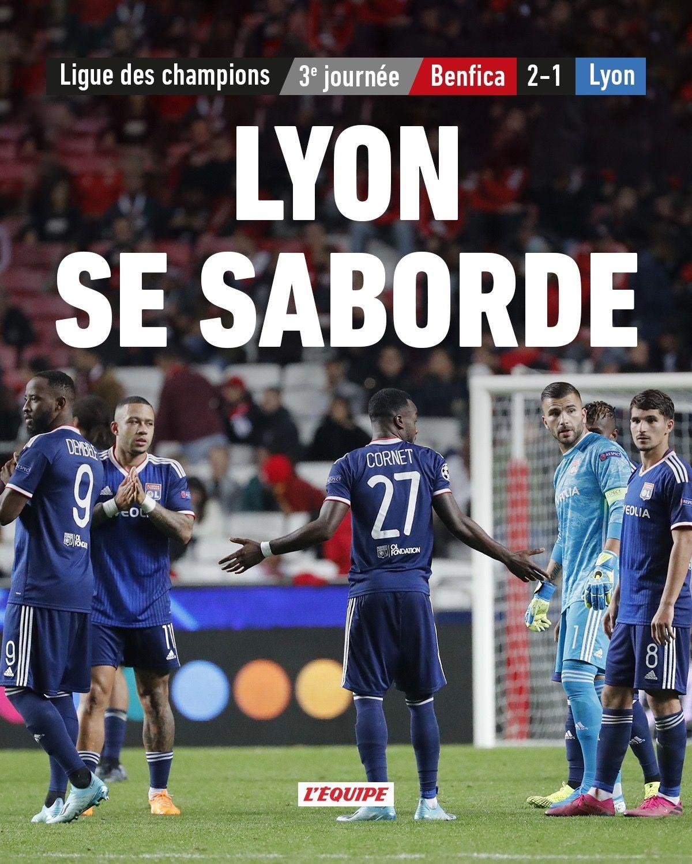 championsleague 20192020 benfica lyon Ligue des