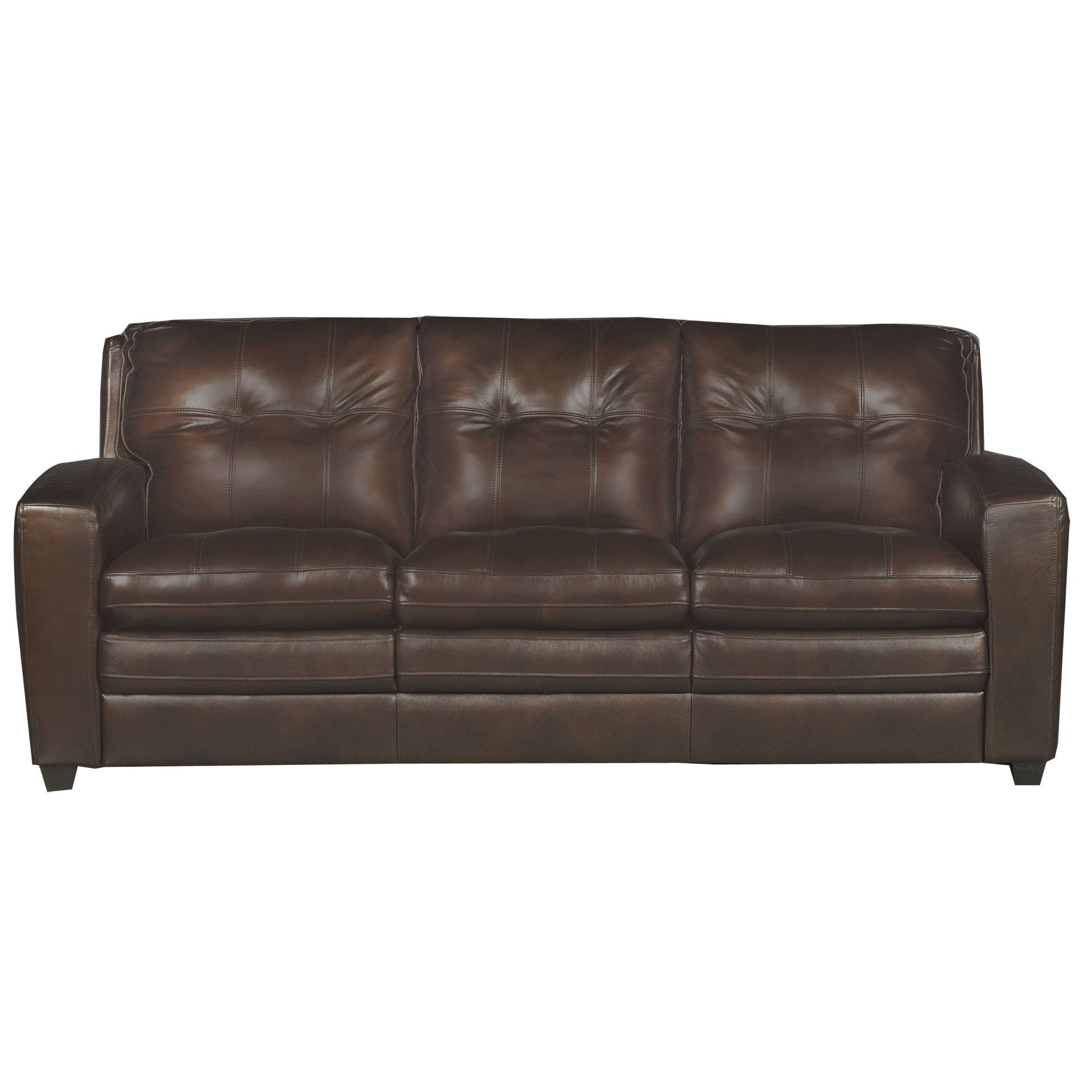 Strange Contemporary Brown Leather Sofa Bed Roland Design Ideas Beatyapartments Chair Design Images Beatyapartmentscom