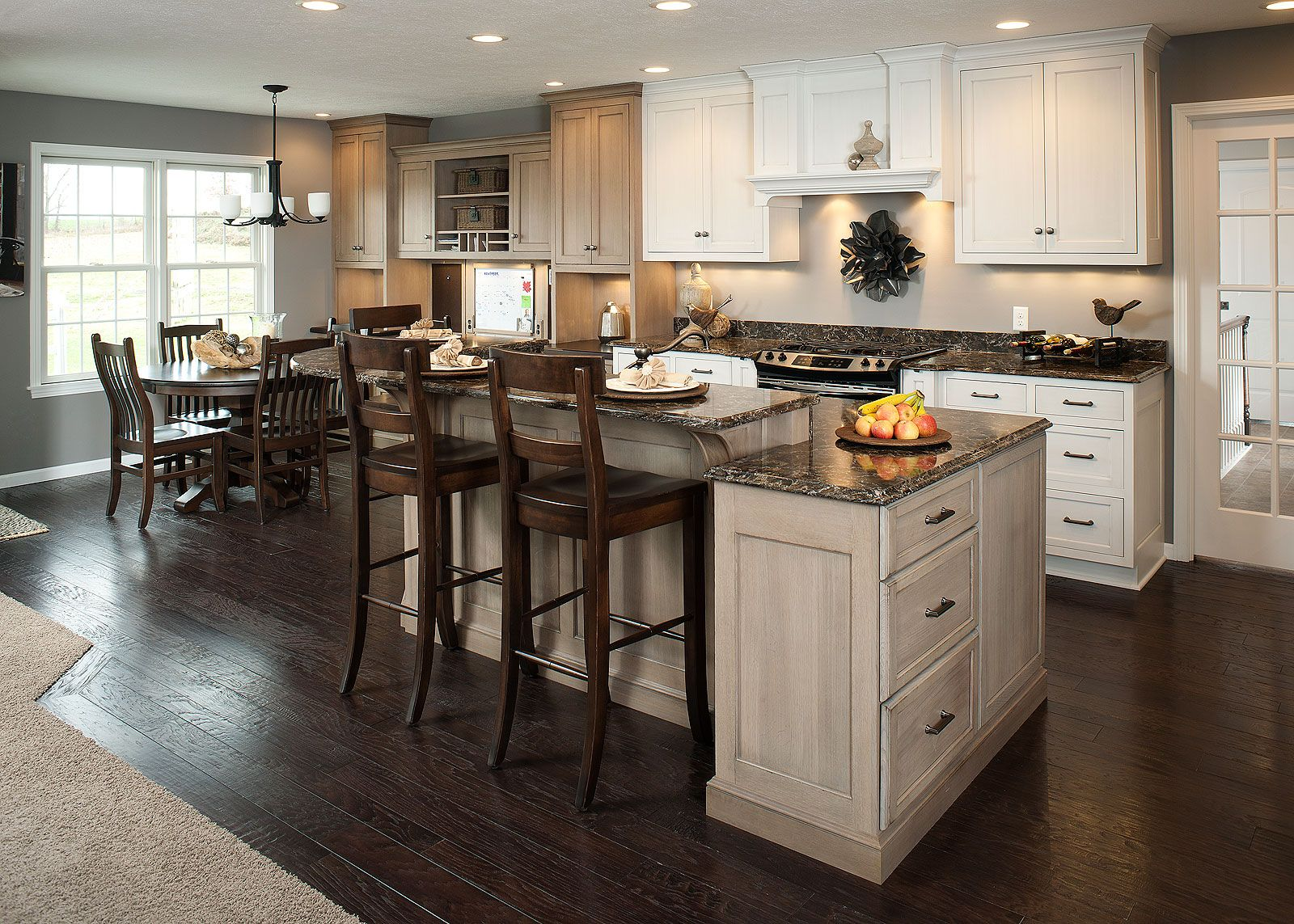 Kitchen Awesome Retro Modern Kitchen With Island Bar And