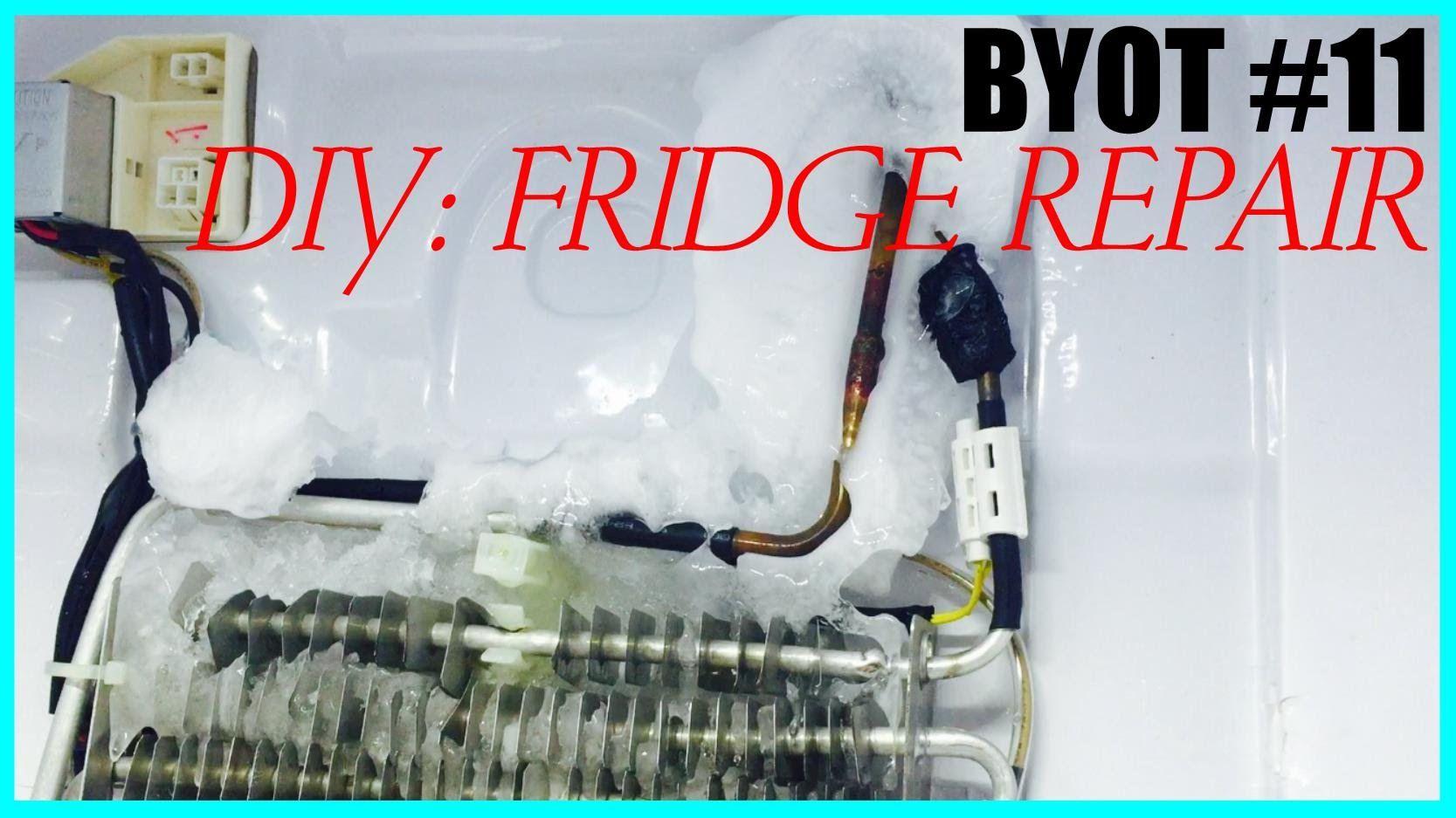 Byot 11 Diy How To Fix A Noisy Fridge Diy Fridge Fix It