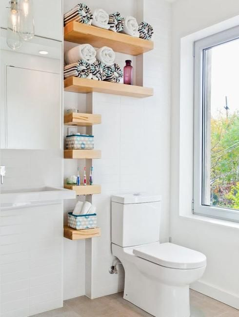 15 Small Wall Shelves To Make Bathroom Design Functional And Amazing Bathroom Shelving Ideas For Small Spaces Design Ideas