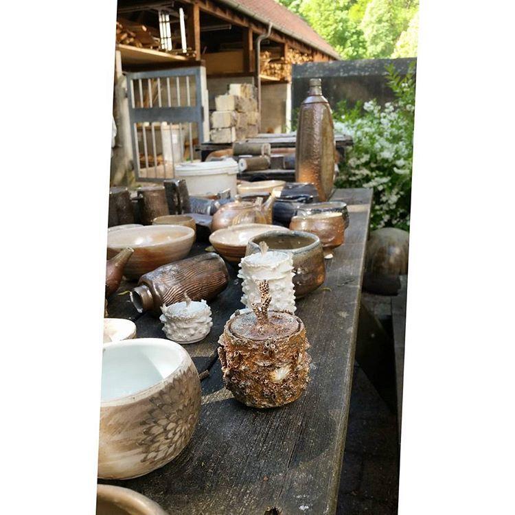 Pottery Porcelain Ceramics Unngthekiln Woodfiring Soda Claudiakutsche Tiefsee
