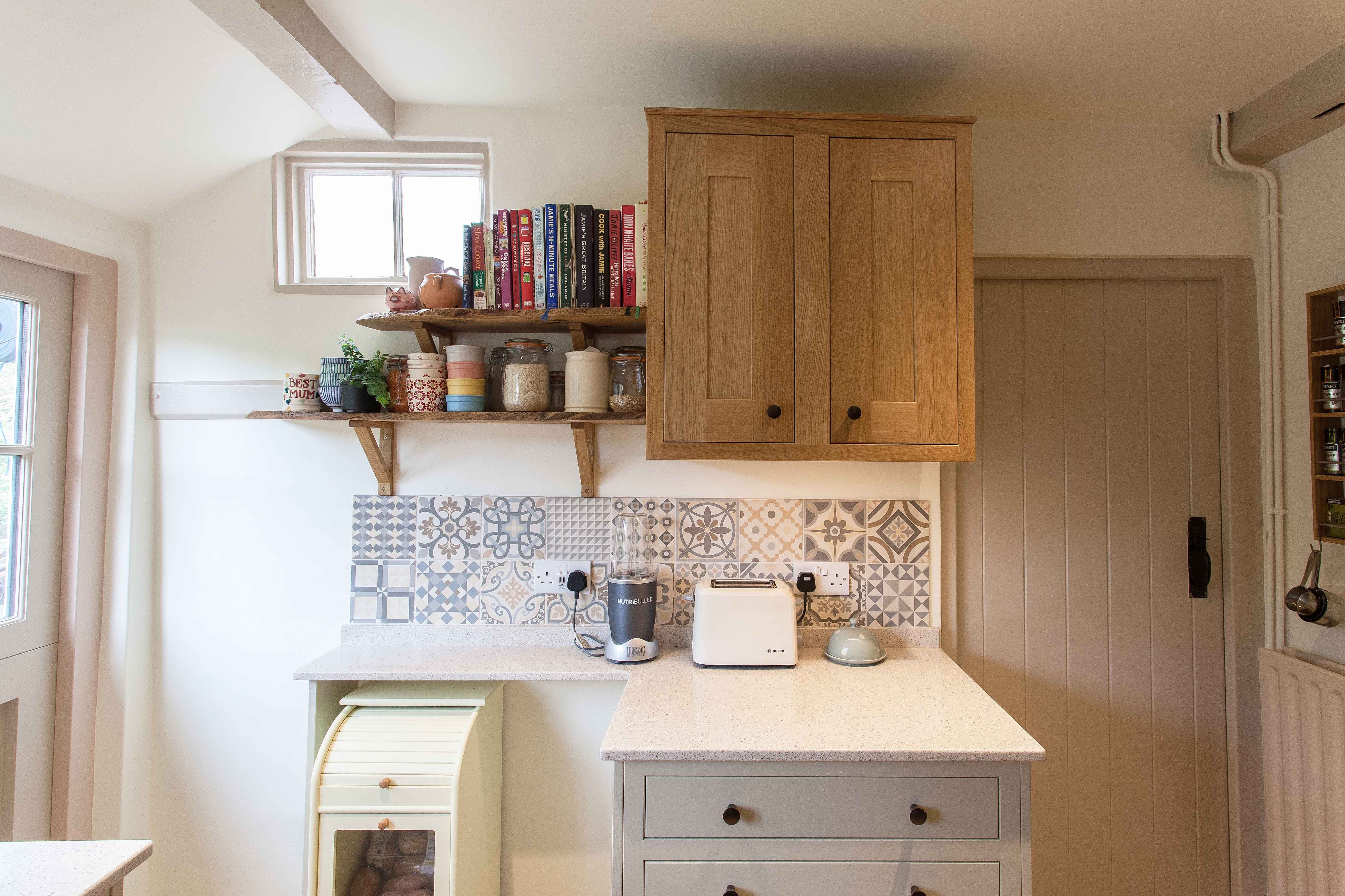 Quirky Kitchen Design In Surrey With Handmade Cabinets Godalming