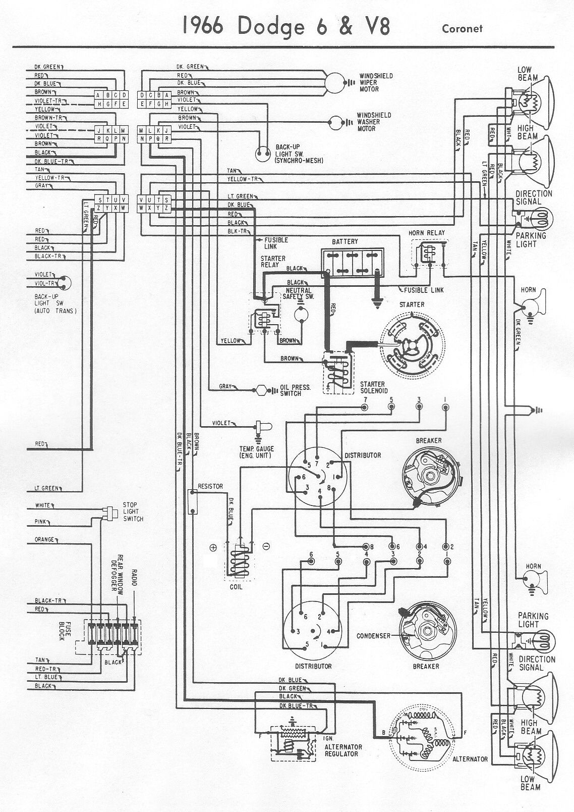 dodge wiring diagram discover your wiring diagram 1966 dodge ignition wiring diagram nilza