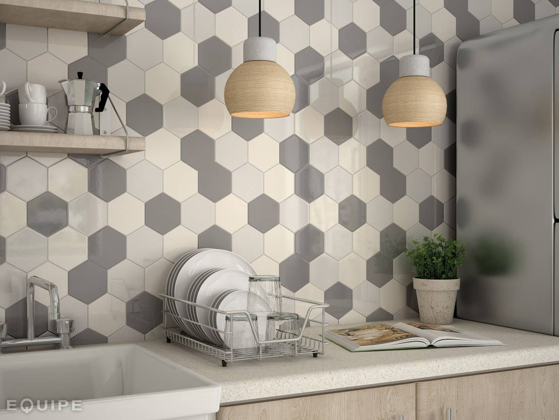 Piastrelle Esagonali Bianche : Risultati immagini per piastrelle esagonali bagno cucina