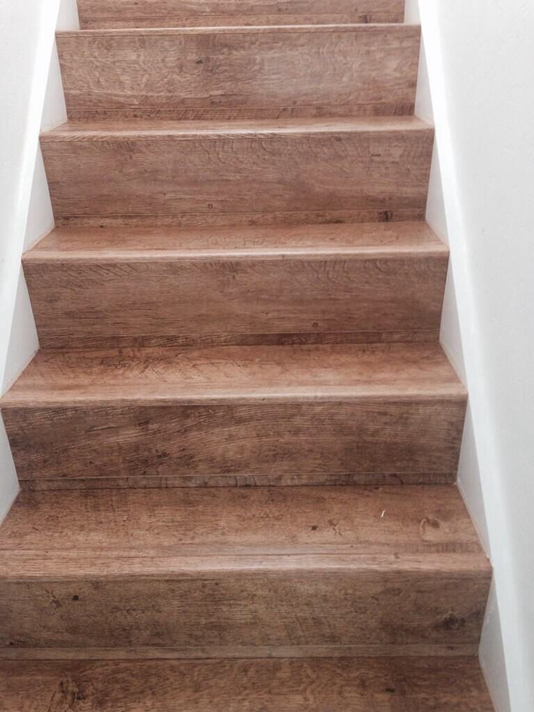 Quick Step Laminate Staircase