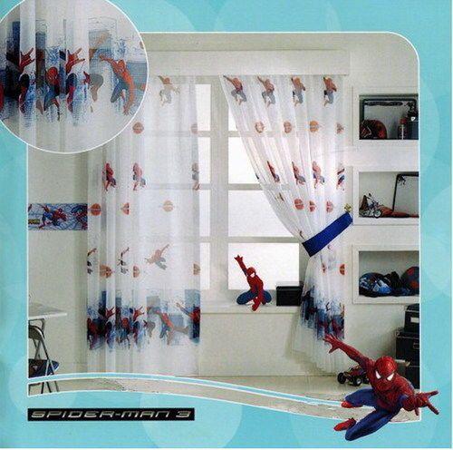 SPIDERMAN GARDINE 1 TEIL 1x(208x126) KINDERZIMMER DISNEY
