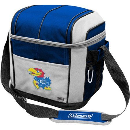 Coleman 11 inch x 9 inch x 13 inch 24-Can Cooler, Kansas Jayhawks, Multicolor