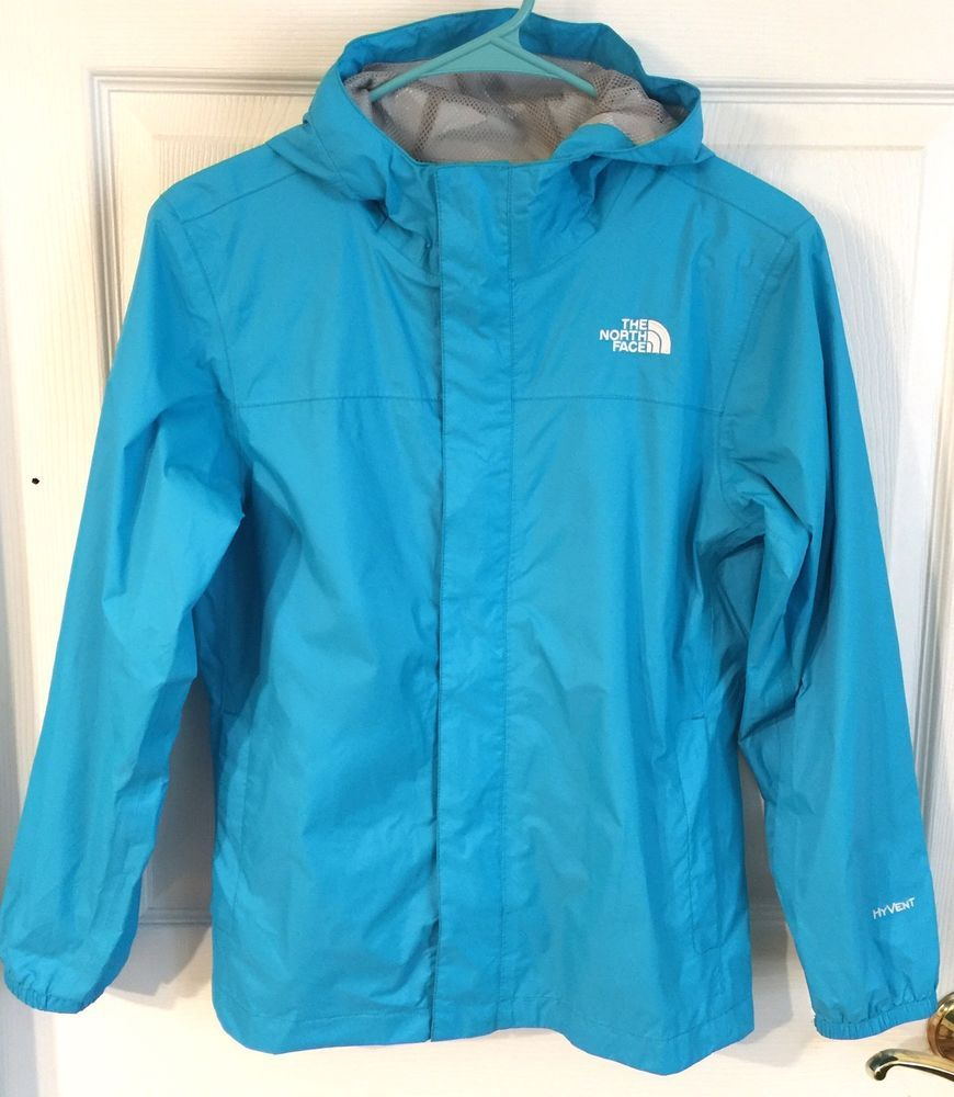THE NORTH FACE Girl L 14 16 HyVent Waterproof Jacket Rain