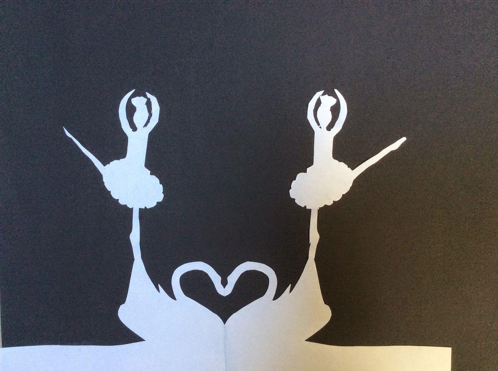 Bidt af billedkunst!: Papirklip a la H.C. Andersen - art trading